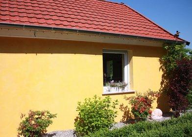 Hausfassade - mehrschichtiger, mineralischer Lasuranstrich