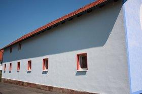Werkstattfassade - Dornieden